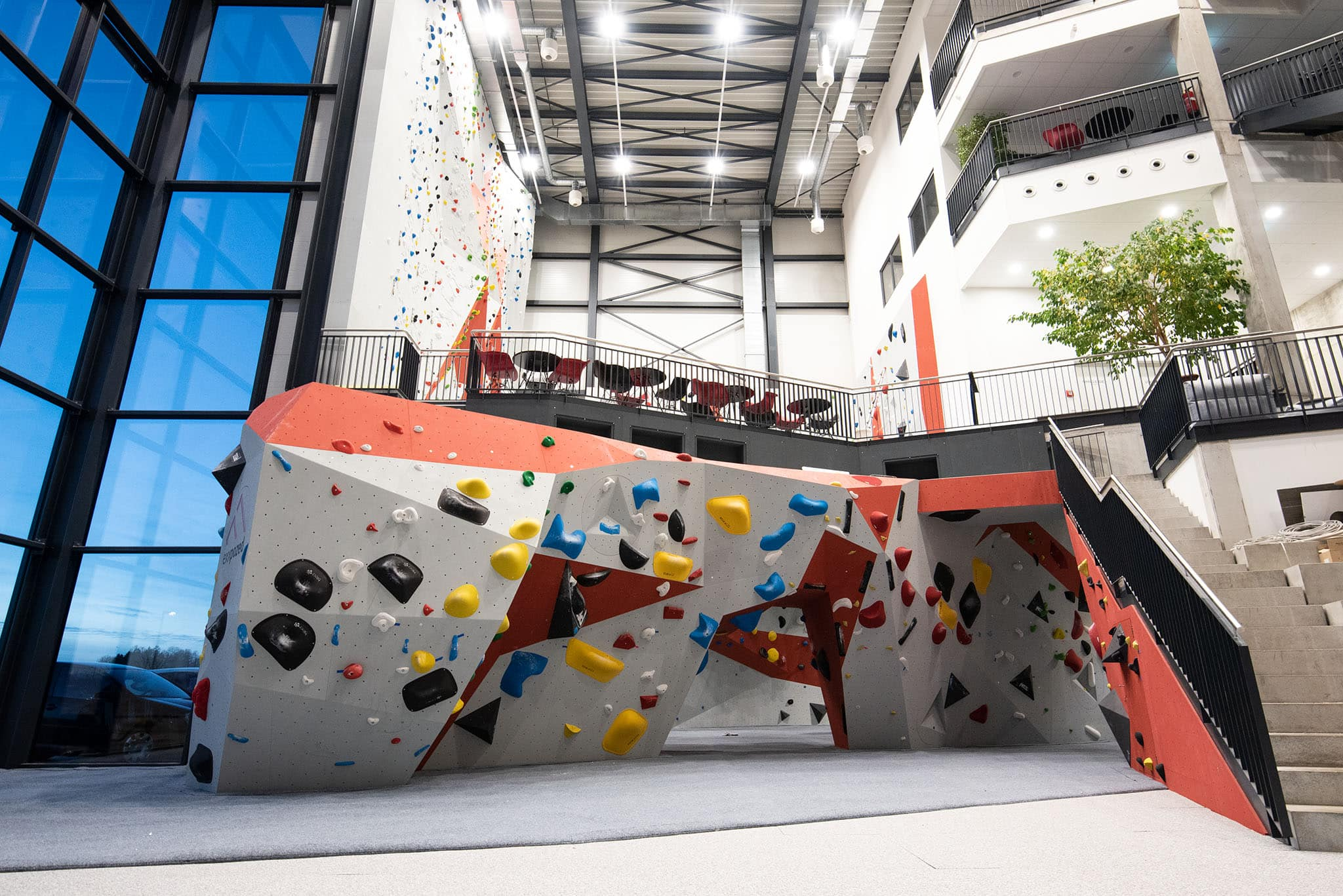 Boulderbereich eXXpozed climbing